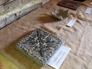 All sorts of natural materials are used in artistic ways during Mineral Point's annual Woodlanders Gathering.